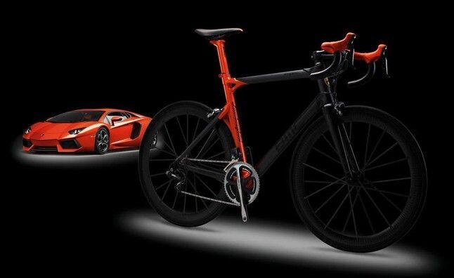 Bicicleta Lamborghini Aventador